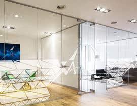 Nro 24 kilpailuun Branded frosted Glass vinyl design for glass doors/glass walls for business käyttäjältä JimPen