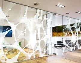 Nro 25 kilpailuun Branded frosted Glass vinyl design for glass doors/glass walls for business käyttäjältä JimPen