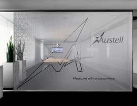 Nro 30 kilpailuun Branded frosted Glass vinyl design for glass doors/glass walls for business käyttäjältä DEZIGNWAY