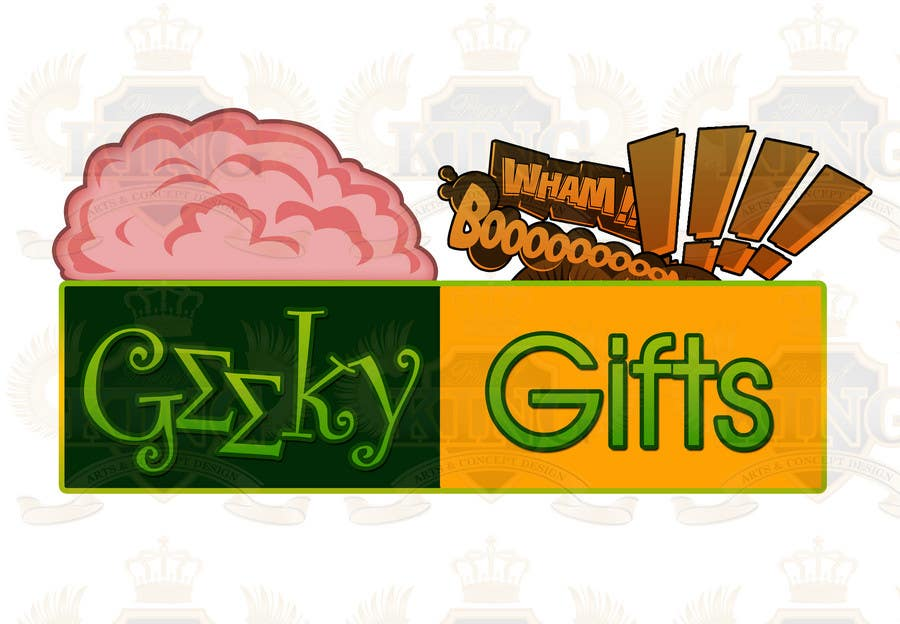Contest Entry #                                        231                                      for                                         Logo Design for Geeky Gifts
