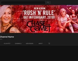#39 for YouTube banner for a female-fronted rock band's channel by designhouse222