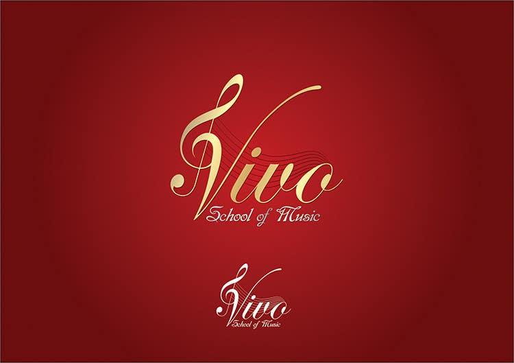 Конкурсная заявка №406 для Logo Design for Vivo School of Music