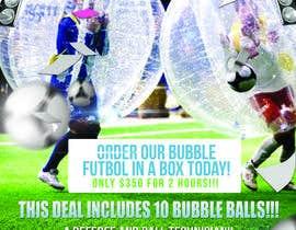 #7 cho Design a Flyer for Bubble Futbol KC bởi mrsheergenius