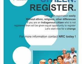 #39 for Design Posters for NRC Assam by gunekoprasetyo34