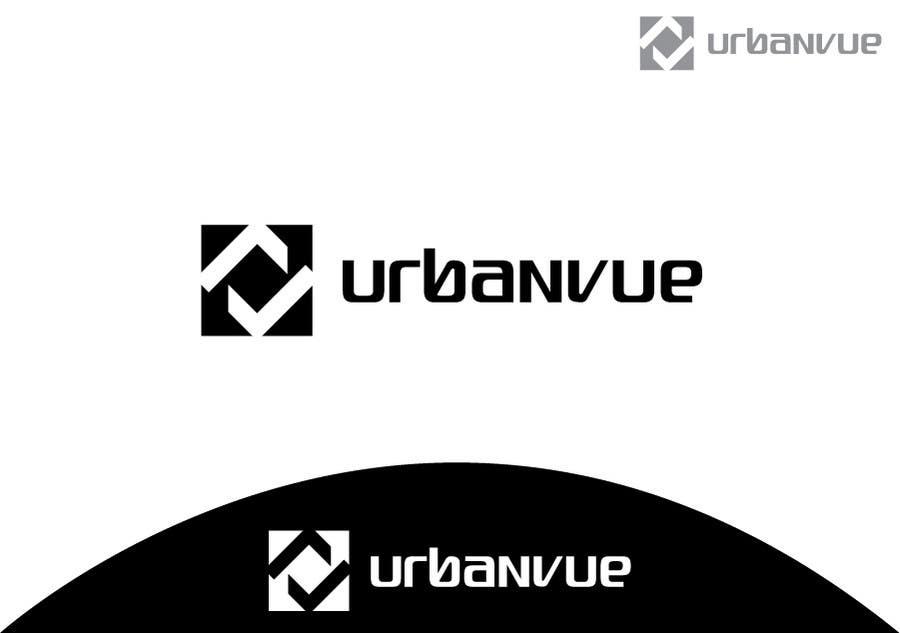 Kilpailutyö #                                        313                                      kilpailussa                                         Logo Design for Urbanvue