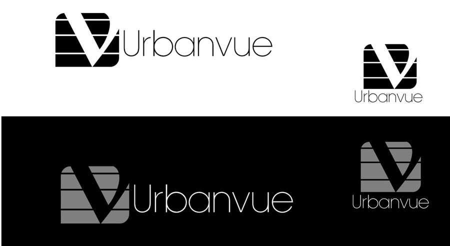 Kilpailutyö #                                        333                                      kilpailussa                                         Logo Design for Urbanvue