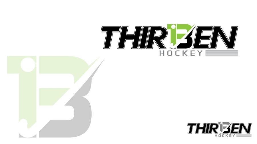 Kilpailutyö #                                        104                                      kilpailussa                                         Logo Design for Thirteen Hockey