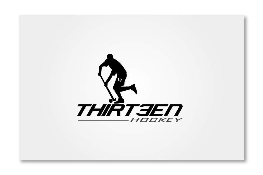 Kilpailutyö #                                        97                                      kilpailussa                                         Logo Design for Thirteen Hockey