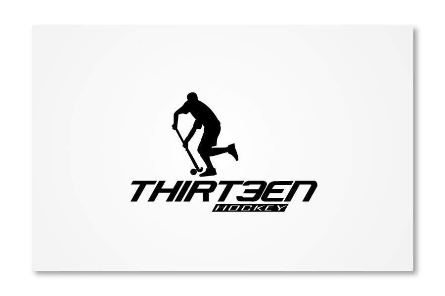 Kilpailutyö #                                        125                                      kilpailussa                                         Logo Design for Thirteen Hockey