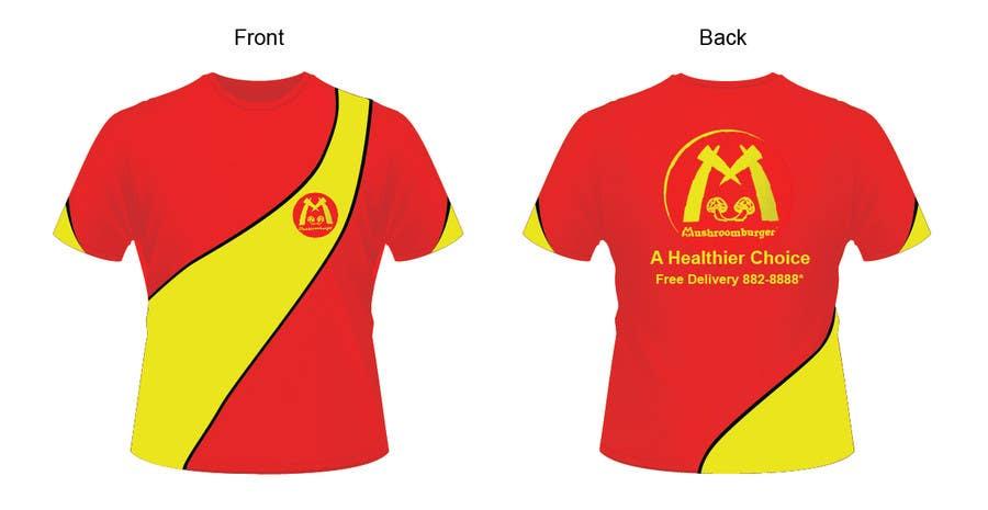 Penyertaan Peraduan #14 untuk T-shirt Design for Mushroomburger Phils., Inc.