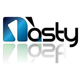 godslinger tarafından Logo Design for Nòsty, Nòsty Krew, Nòsty Deejays, Nòsty Events, Nòsty Production, Nòsty Store için no 18