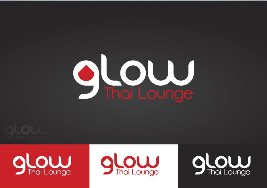 Конкурсная заявка №338 для Logo Design for Glow Thai Lounge