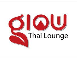 nº 317 pour Logo Design for Glow Thai Lounge par IQBAL02