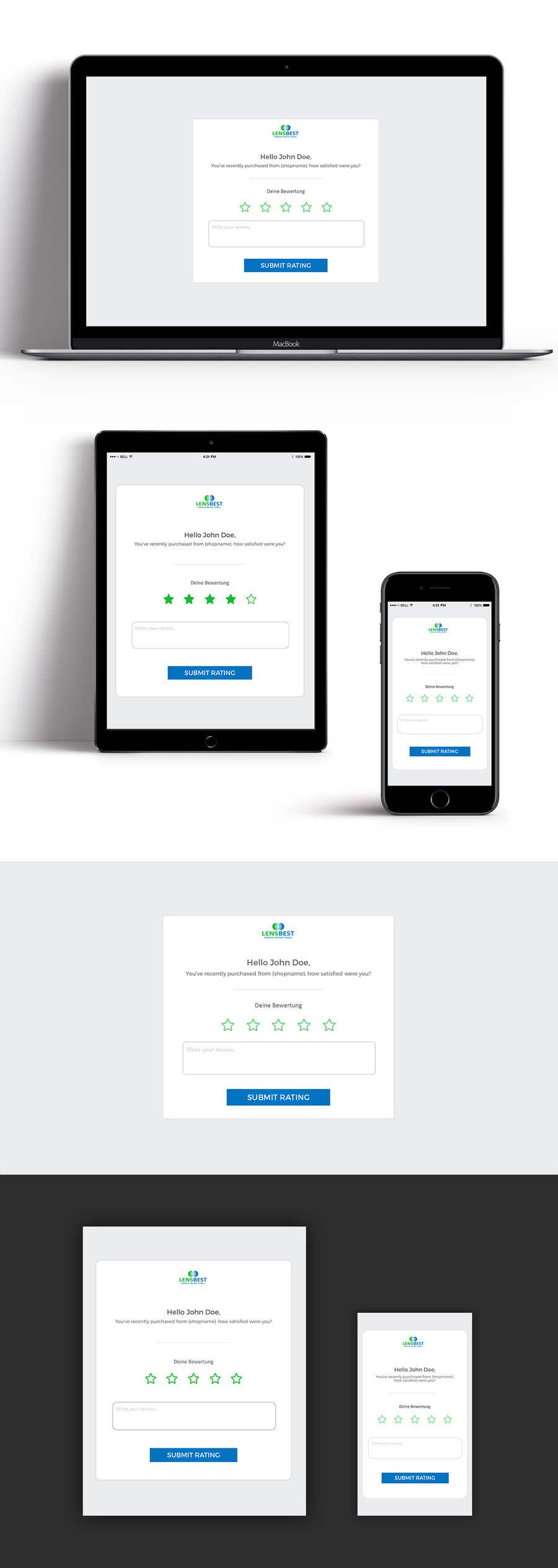 Entry #6 by znxked for UI Design - Rebuild our Review Collection
