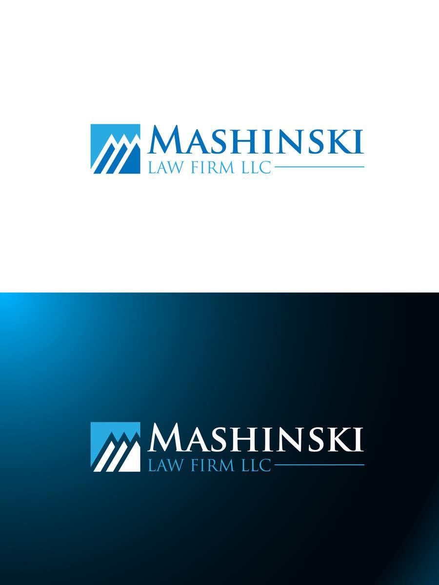 Kilpailutyö #431 kilpailussa Logo Design for Mashinski Law Firm LLC