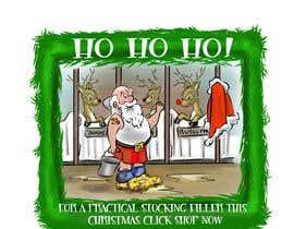 #6 para Santa in overboots for facebook ad. por ahkenatan