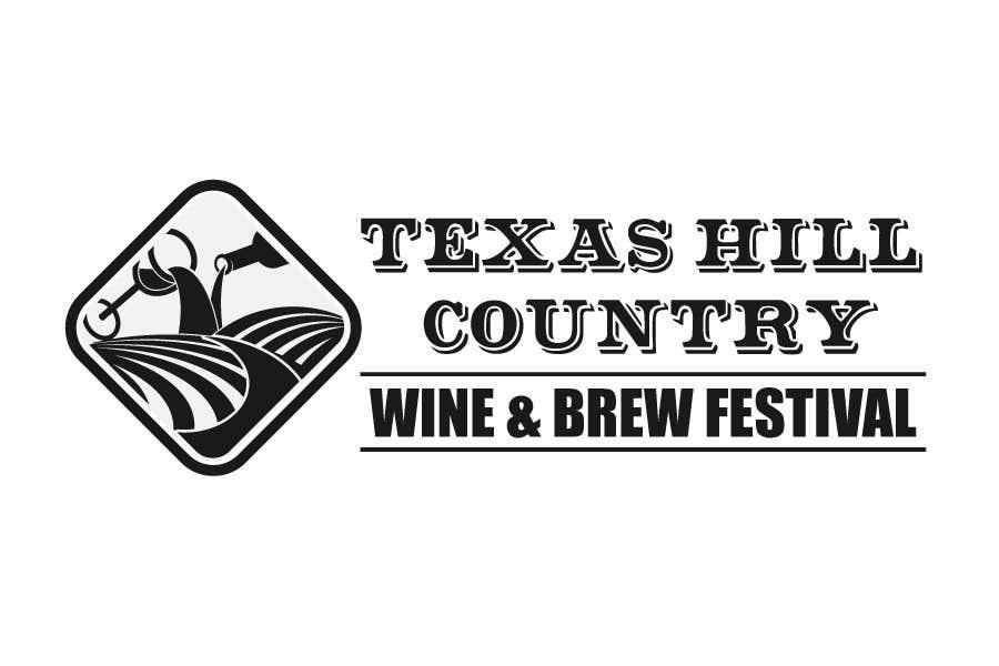 Penyertaan Peraduan #                                        69                                      untuk                                         Logo Design for Texas Hill Country Wine & Brew Fest