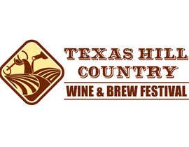 danumdata tarafından Logo Design for Texas Hill Country Wine & Brew Fest için no 49