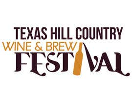 #83 para Logo Design for Texas Hill Country Wine & Brew Fest por vanessarusu