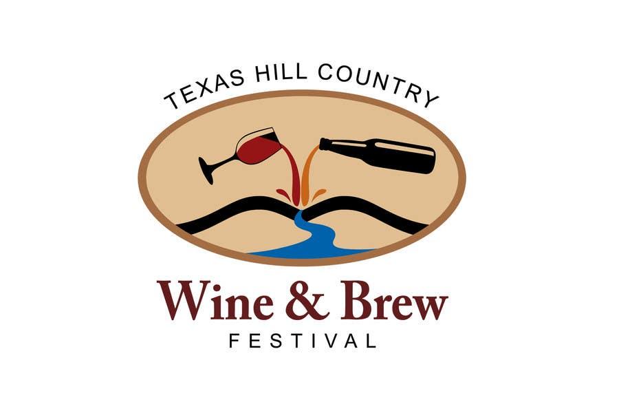 Bài tham dự cuộc thi #73 cho Logo Design for Texas Hill Country Wine & Brew Fest