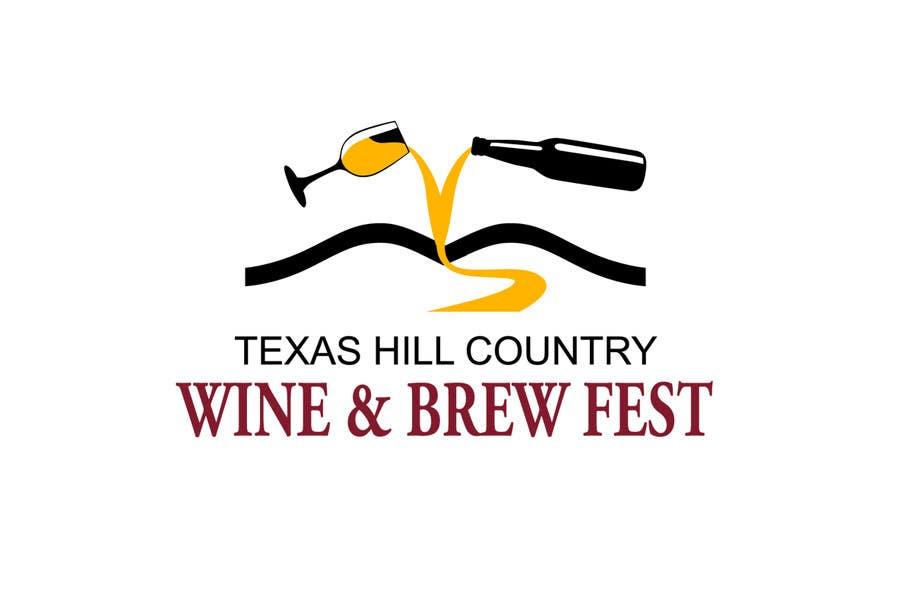 Penyertaan Peraduan #                                        11                                      untuk                                         Logo Design for Texas Hill Country Wine & Brew Fest