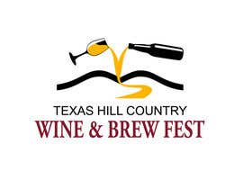 #11 for Logo Design for Texas Hill Country Wine & Brew Fest af smarttaste