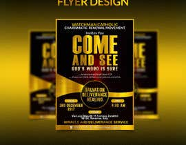 #25 for Design a best flyer by amirkust2005