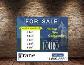 #178 for BIG CONSTRUCTION/REAL ESTATE SIGN by fareehakunwar