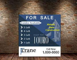 #180 for BIG CONSTRUCTION/REAL ESTATE SIGN by fareehakunwar