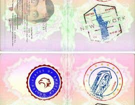 #14 for FUN and responsive passport and destination stamps design for SAAS av padigir