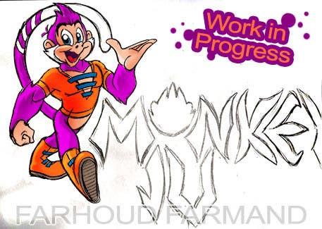Proposition n°                                        56                                      du concours                                         Logo Design for Monkey Junk