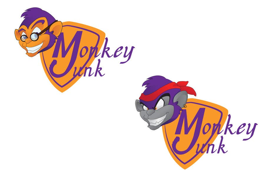 Proposition n°                                        60                                      du concours                                         Logo Design for Monkey Junk