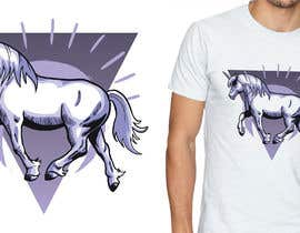 #10 for Create a vivid and striking T-shirt design by mariapelc