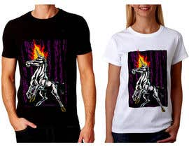 #13 for Create a vivid and striking T-shirt design by feramahateasril