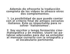#3 para traducir del italiano al español de Miguelardonam