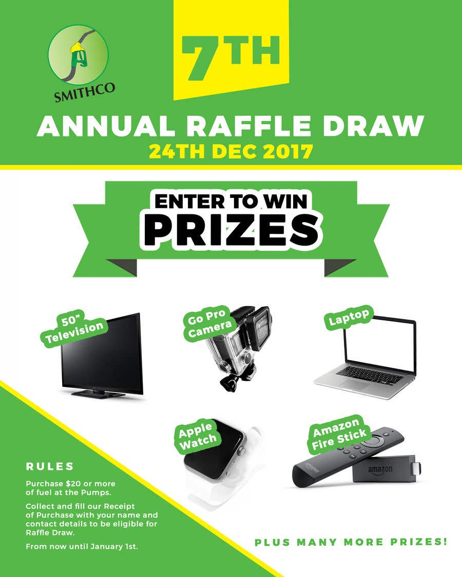Electronic raffle draw