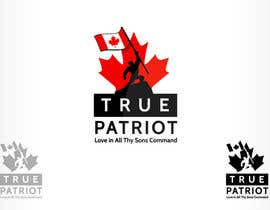 #135 for Logo Design for True Patriot af oscarhawkins