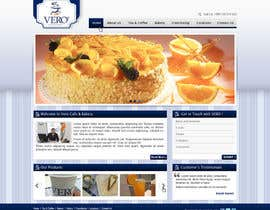 #24 para Theme, Web Site and Print Design for Cafe/Bakery por Brandwar