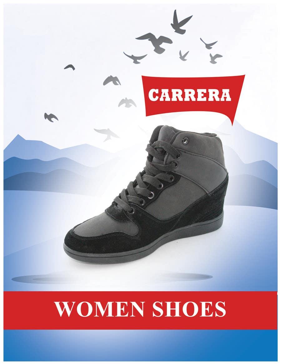 Penyertaan Peraduan #                                        24                                      untuk                                         Poster Graphic Design for Carrera Shoes