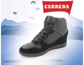 #24 untuk Poster Graphic Design for Carrera Shoes oleh madlabcreative