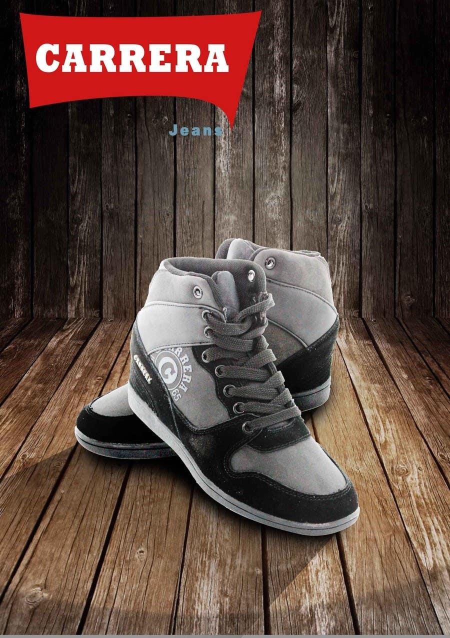 Penyertaan Peraduan #                                        11                                      untuk                                         Poster Graphic Design for Carrera Shoes