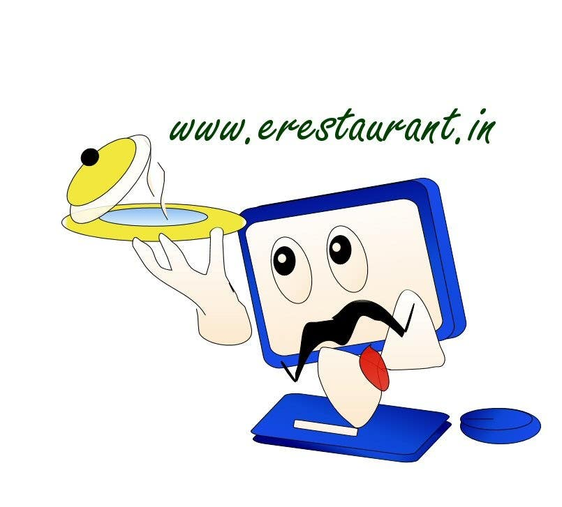 #60 for Logo Design for www.erestaurant.in by kameshsai