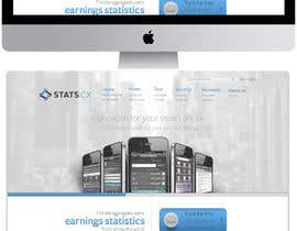 #1 for Wordpress Theme Design for Stats.cx by Bkreative