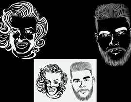 Nro 51 kilpailuun Portraits in vector graphic käyttäjältä bala121488