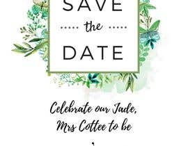 #3 for I need some Graphic Design  - Save the date invite by CharlenePiz