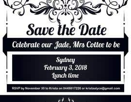 #6 for I need some Graphic Design  - Save the date invite by nayangazi987