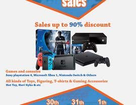 MohammodRakib tarafından Design a Flyer for Video Games Warehouse Sales. -- 2 için no 58