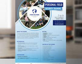 #27 cho Flyer for our Personal Field Security Training bởi arslanizaya