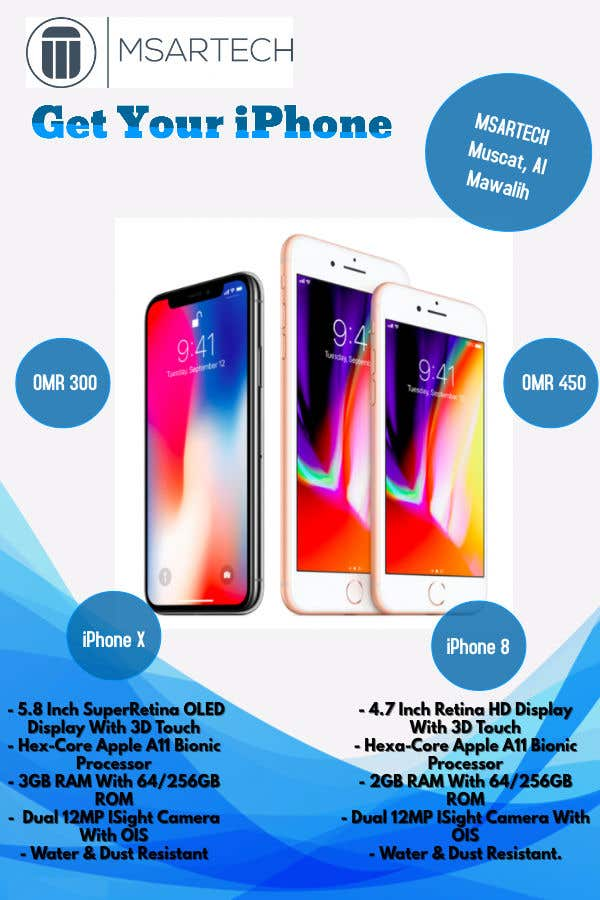 Entry 28 By Rahulabhilakh For Advertisement Banner For Iphone X