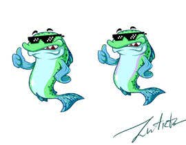 "#32 para FISH CARTOON [SPECIFICALLY A ""TROUT""] por zuart"